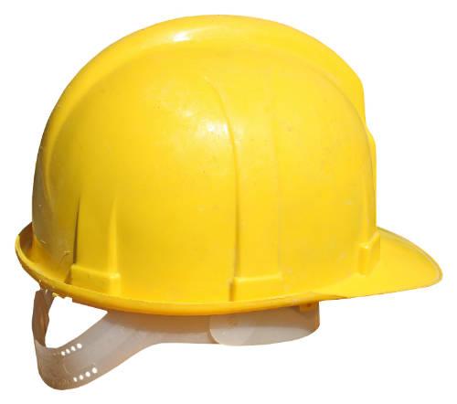 casco trabajador